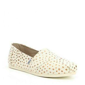 Cute polka dot toms